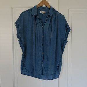Madewell Central Shirt soft chambray S